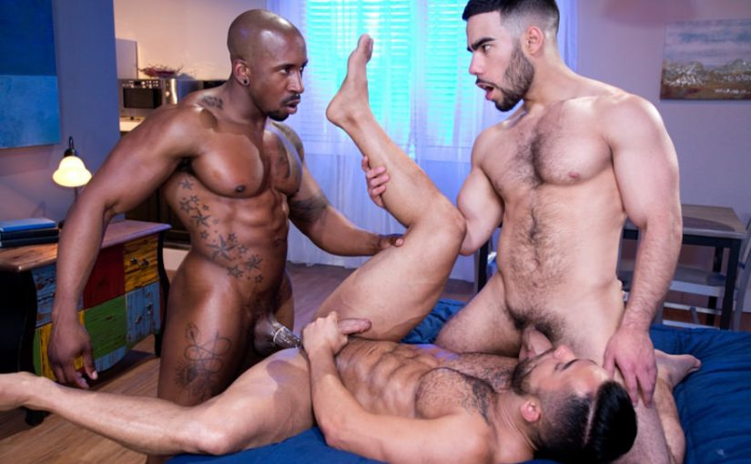 Gay Latinos Sex Orgy Party